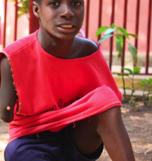 Gabriel, un superviviente en Guinea Bissau