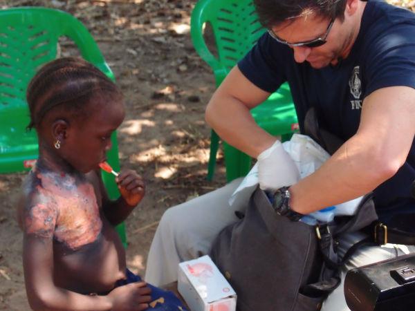 Amigos y urgencias en Guinea Bissau