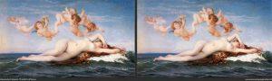 El nacimiento de Venus de Cabanel