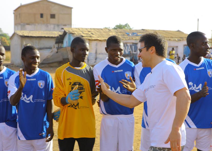 Día de sonrisas y lágrimas en Guinea Bissau
