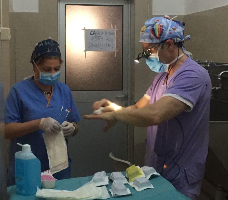 Primeros pacientes en Guinea Bissau