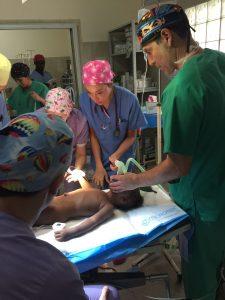 Pacientes en Guinea Bissau